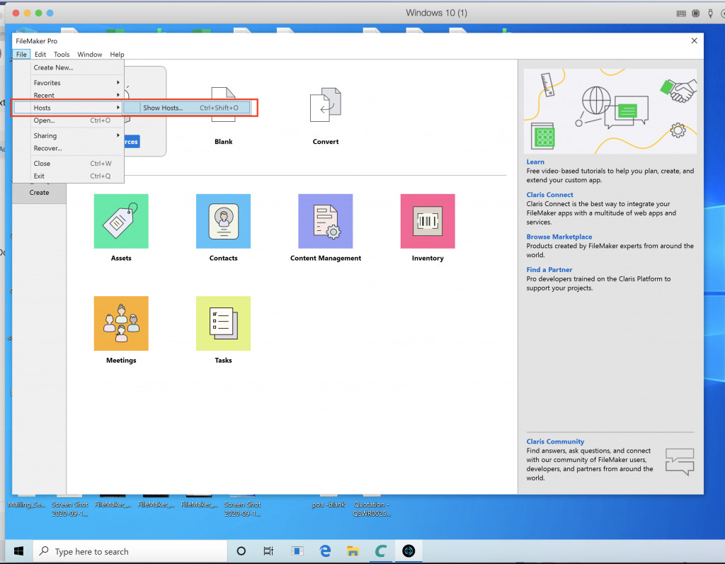 CAPTRON Partner Portal for key suppliers, distributors and customers - instructions for Windows setup